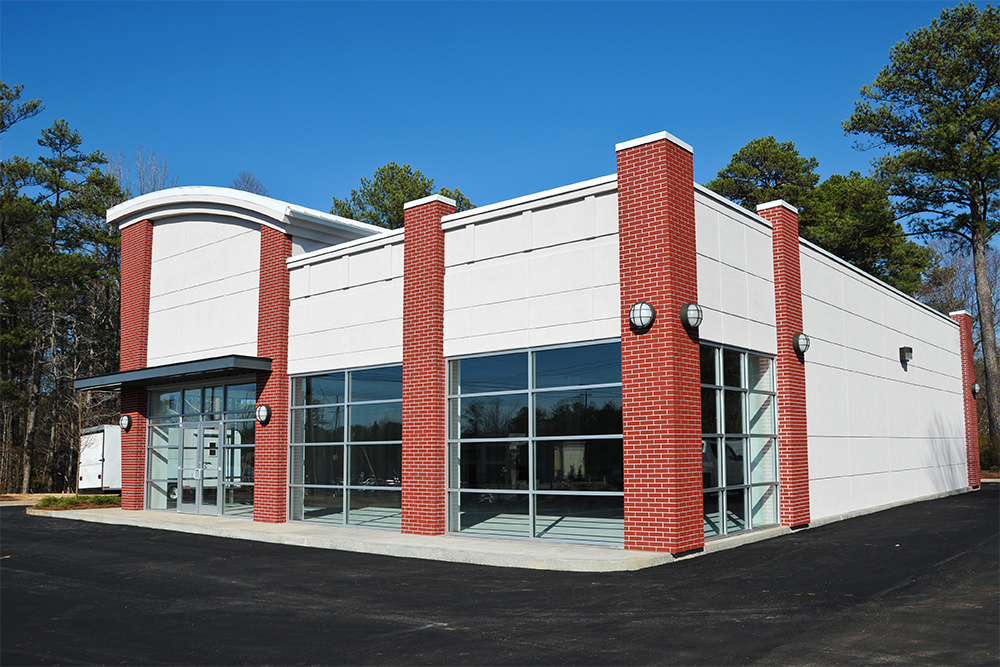 A New Modern Commercial Building