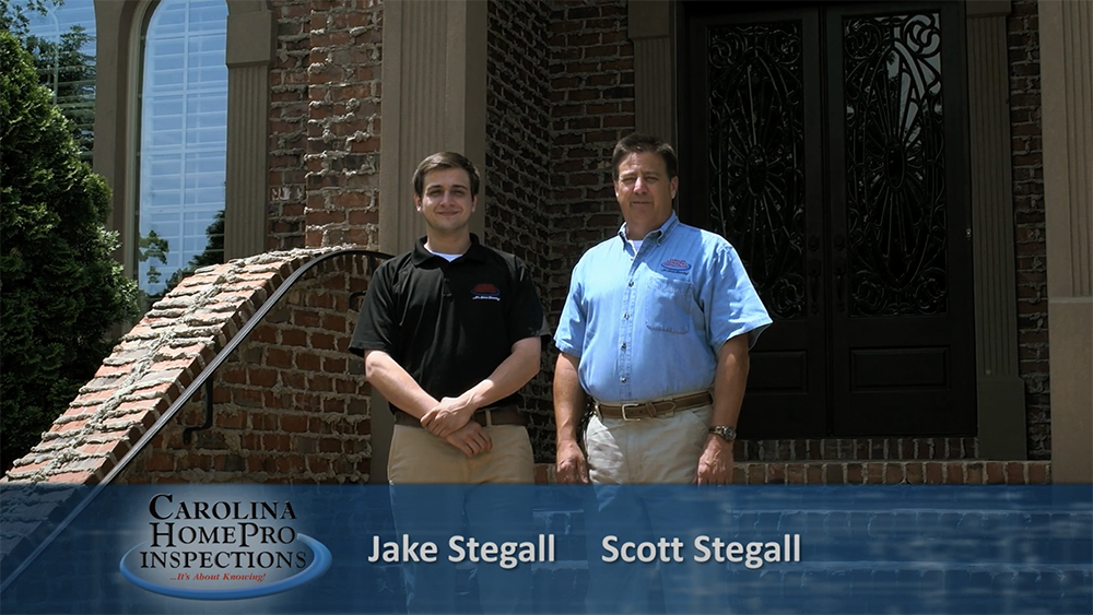 Our home inspectors Jake Stegall and Scott Stegall