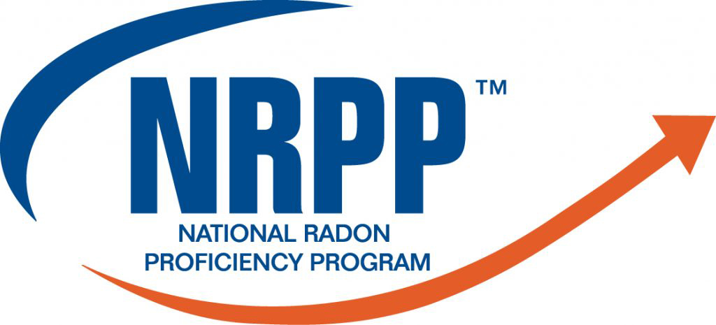 National Radon Proficiency Program NCPP logo for home inspectors